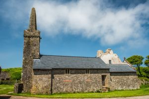 Caldey Island, St Illtud's Church