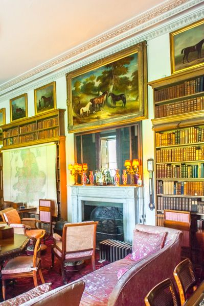Calke Abbey photo, The drawing room