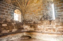 Cambuskenneth Abbey, Ground floor chamber of the bell tower