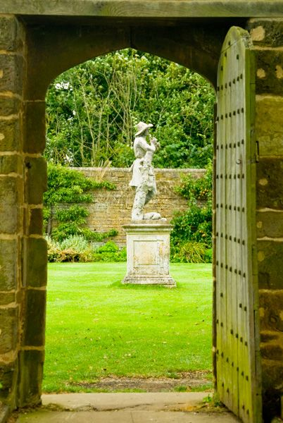 Canons Ashby photo, The Shepherd Boy