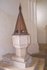 The 15th century Perpendicular font