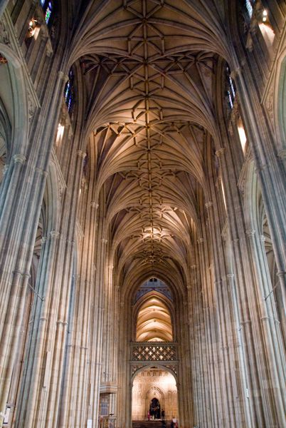 Canterbury Cathedral photo, Nave view