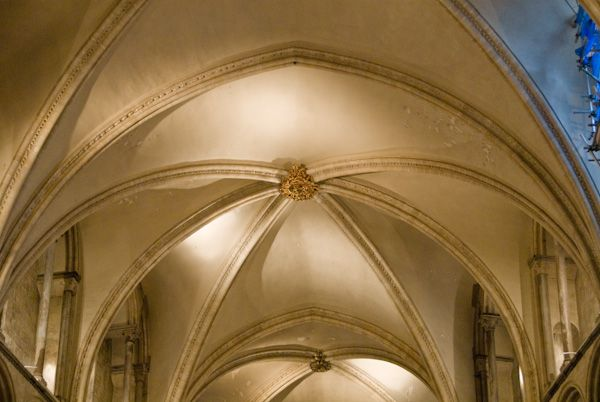 Canterbury Cathedral photo, Quire vaulting