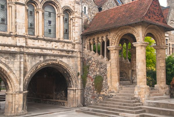Canterbury Cathedral photo, Norman Stair