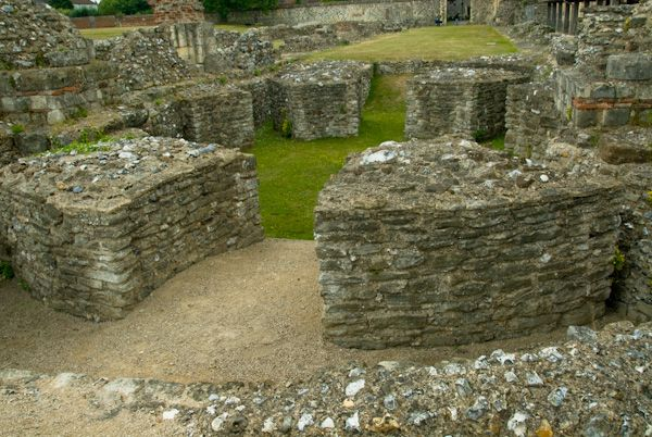 St Augustine's Abbey photo, Wulfric's Rotunda
