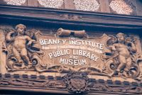 Beaney House of Art and Knowledge, Beaney Institute sign