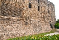 Exterior castle wall