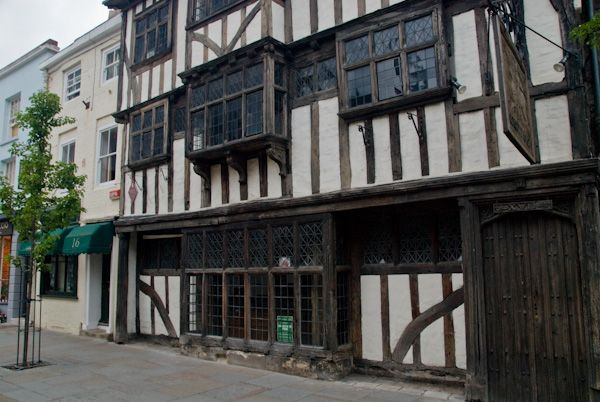 Canterbury photo, Conquest House