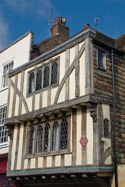 Canterbury photo, Timber-framed building, Palace Street
