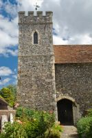 Canterbury, St Peter's church, 11th century tower