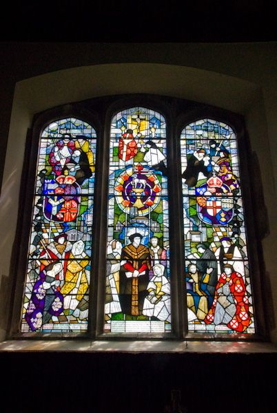 Canterbury, St Dunstan photo, Thomas More Window