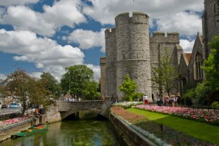 West Gate Tower and River Stour