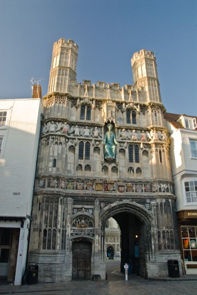 Canterbury Cathedral photo, Christ Church Gateway