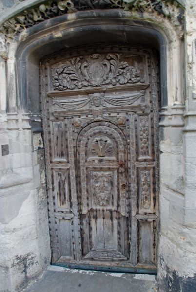 Canterbury Cathedral photo, CHrist Church Gate door