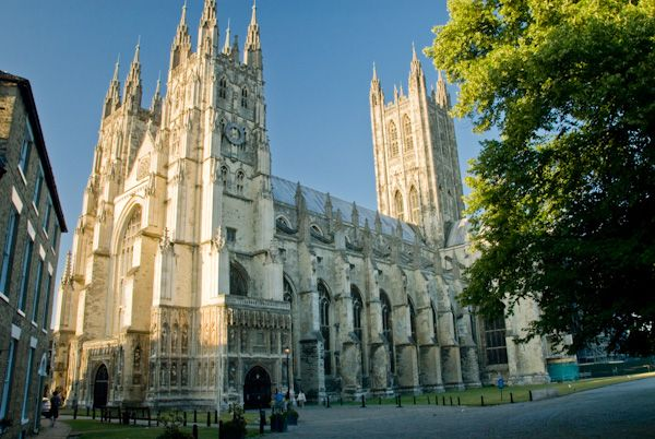Canterbury photo, Canterbury Cathedral precinct