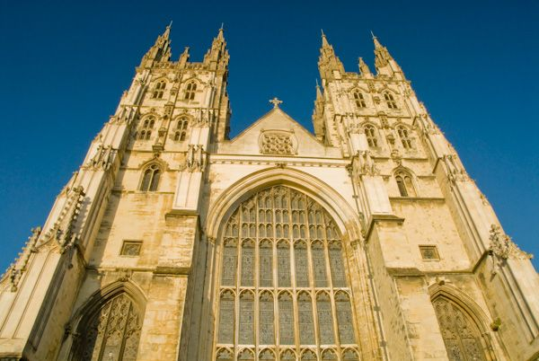 Canterbury Cathedral photo, West towers