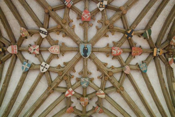 Canterbury Cathedral photo, Cloister vaulting 2