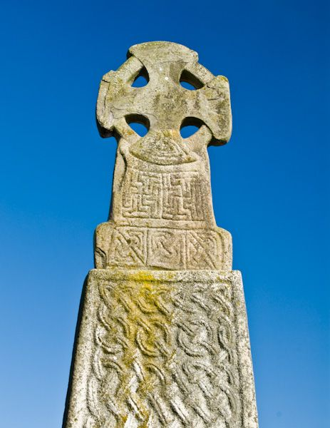 Carew Cross photo, Cross head