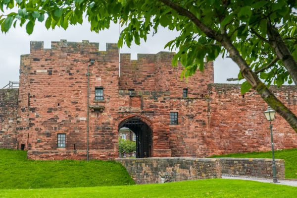 Carlisle Castle photo, The castle gatehouse