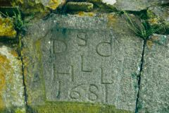 1681 inscription