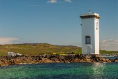 Carraig Fhada Lighthouse, The lighthouse from the south west
