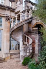 Spiral stair on the Orangery