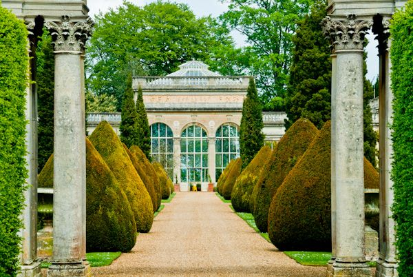 Castle Ashby Gardens photo, Topiary avenue walk