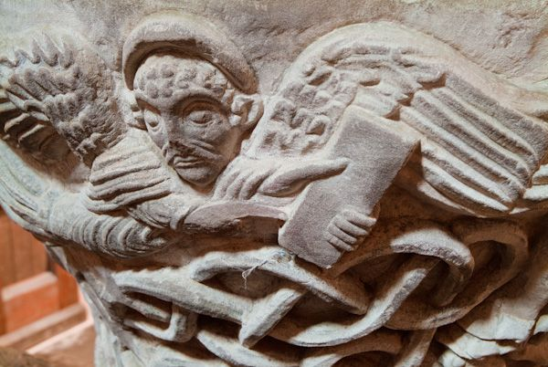 Castle Frome, St Michael's Church photo, Angel carving