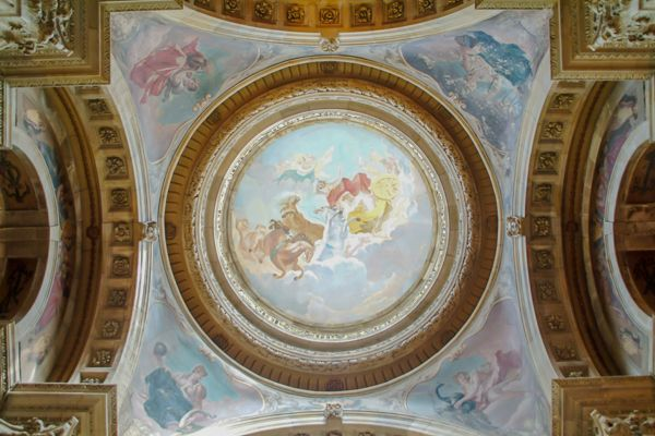 Castle Howard photo, Interior of the dome