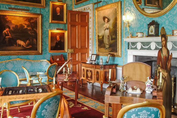 Castle Howard photo, The Turquoise Drawing Room