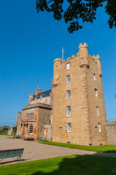 Castle of Mey photo, The front facade of the castle