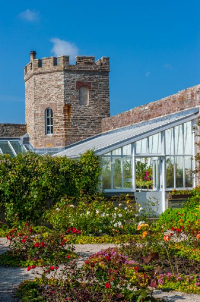 Castle of Mey photo, The walled garden
