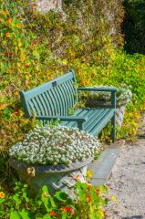 Castle of Mey, A quiet garden seat