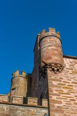 Castle of Mey, Medieval turrets