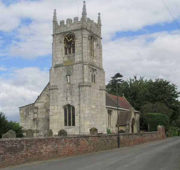 Cawood photo, Another look at All Saints church (c) Mike Kirby