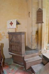 Catmore, St Margaret's Church, Pulpit
