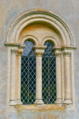 Catmore, St Margaret's Church, East window