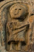 Archangel Michael carving 2