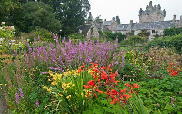 Cawdor Castle photo, The castle from the gardens