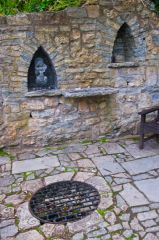 Chalice Well and Gardens, A quiet prayer area