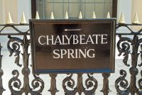 Sign to the Chalybeate Spring