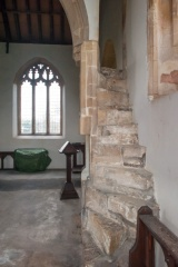 The rood loft stair