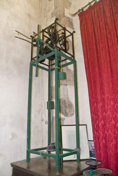 Charing, St Peter and St Paul photo, Clock mechanism