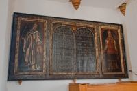 17th century Decalogue Board