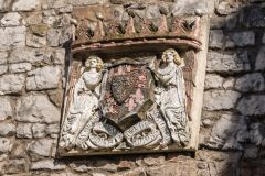 Chepstow Port Wall, Town Gate coat of arms