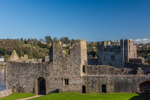 Chepstow Castle photo, William I's Great Tower