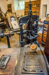 The printing workshop