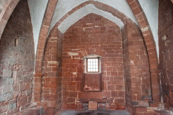 Chester Castle, Agricola Tower photo, The Chapel interior