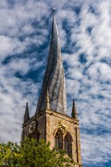 Chesterfield, Crooked Spire Church, Another look at the crooked spire