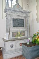 Chilham, St Mary, Lady Margaret Palmer memorial